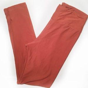 LULAROE   One Size   Mauve Leggings